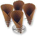 Chocolate Waffle Cones
