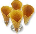 Wafer Cones.