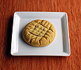 Peanut Butter Criss-Cross Cookies